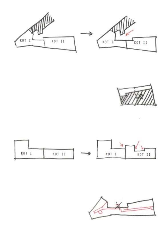 P030 tekeningen KOT I en II